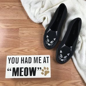 Hot Topic Kitty Cat Shoes